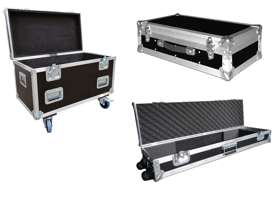 Exhibition Stand Cases : Exhibition flight cases in uk transport cases phi